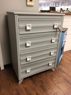 Modern Painted Furniture On Fabulous Chest Of Drawers Painted In Cece Caldwellu0027s Chalk Clay Paint Coloru2026 Painted Furniture 317 Best Mid Century Modern Mcm Images On