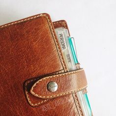Best idea ever to use my Filofax Malden Pocket as a #wallet I use it for quite a bit now & do not want to have it any other way!