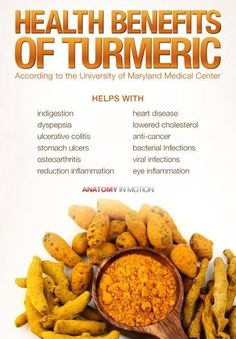 Health Benefits of Turmeric  What do you use it for?