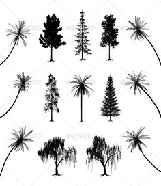 simple weeping willow tree tattoo - Google Search