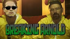 Arnold Schwarzenegger doesn't break under pressure, even with Breaking Bad's Walter White and Jesse Pinkman
