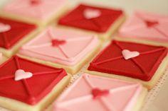 Love Note cookies♥♥♥