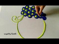 Ganesh chaturthi special ganpati rangoli/peacock rangoli by Keerthi Hii friends, Welcome to rangoli by Keerthi ----------------------------------------------. Happy Diwali Rangoli, Easy Rangoli Designs Diwali, Rangoli Designs Latest, Rangoli Designs Flower, Free Hand Rangoli Design, Rangoli Border Designs, Colorful Rangoli Designs, Rangoli Ideas, Rangoli Designs Images