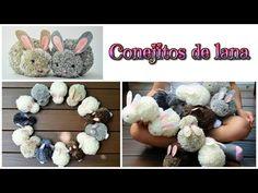 Manualidades fáciles para niños, como hacer perritos con pompones de lana - Chihuahua - Isa ❤️ - YouTube