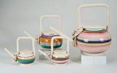 Lot 167 | Rare early teapots (4) | Peter Shire | October 12, 2014 Auction | Los Angeles Modern Auctions (LAMA)