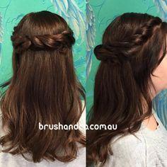 Up Styles, Long Hair Styles, Half Up Half Down, Formal Hairstyles, Formal Wedding, Hairdresser, Curls, Instagram Posts, Long Hairstyle