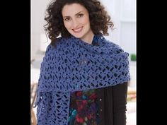 Romantic Lacy shawl crochet in Tamil/English