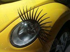 3D Car Eyelashes Headlight Lamp sticker Pairs --- See more at http://astore.amazon.com/kidfgter-20