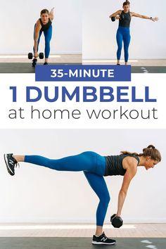 30-Minute Full Body Kettlebell Workout (Or Single Dumbbell)