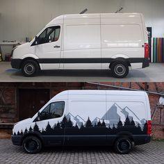 Sprinter Graphic Van Life Camper Campervan