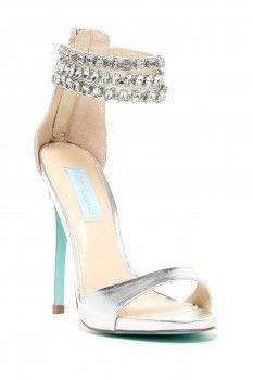 Betsey Johnson Marry Embellished Sandal