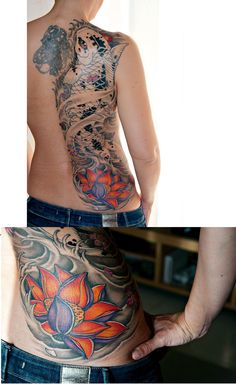 probably the best koi fish tattoo ive seen