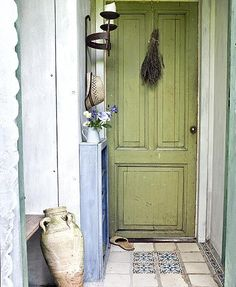 Groen voor de deur