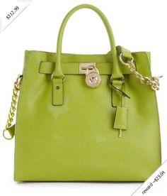 0bdd2af5128b Michael Michael Kors Hamilton Large Safiano Leather Tote Lime 30s2ghmt3l  Cheap Michael Kors Bags