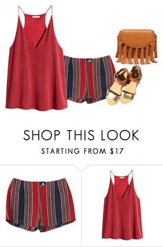 """""""Untitled #1534"""" by yurithisandthat ❤ liked on Polyvore featuring H&M and Sole Society"""