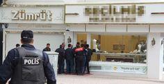 Kırşehir'de alacağını tahsil etmek için kuyumcuyu bastı