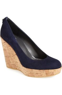 Stuart Weitzman 'Corkswoon' Wedge available at #Nordstrom