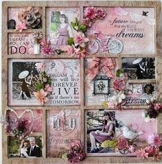 Shadow box - full of inspiring words and quotes, paired with ...