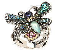 Barbara Bixby sterling silver dragonfly ring, on QVC.com