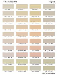 Cartella Colori NCS 1950 - Severpaint - colori e vernici