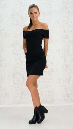 Mini strapless φόρεμα | Χειμερινή Collection 2016 | Potre One Shoulder, Shoulder Dress, Mini, Collection, Black, Dresses, Fashion, Vestidos, Moda