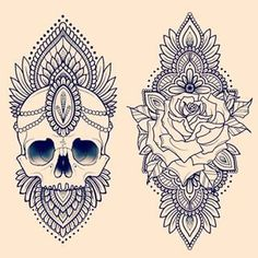 mandala rose tattoo - Google Search | Tattoos/Piercings | Pinterest ...