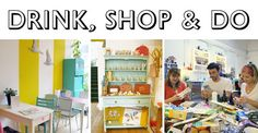 Indie Craft Shop: Drink, Shop & Do (UK)
