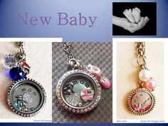 Welcome new baby with a beautiful, personalized South Hill Designs locket! South Hill Designs by Locketology.com