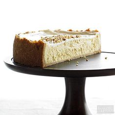 Very-Almond Cheesecake - From Better Homes and Gardens