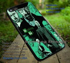 Breaking Bad Artwork iPhone 6s 6 6s  5c 5s Cases Samsung Galaxy s5 s6 Edge  NOTE 5 4 3 #movie #BreakingBad dt