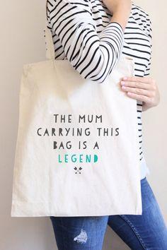 Funny Tote Shopper Shopping Bag Bag For Life - Mum Legend