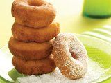 Sunny Morning Doughnuts Recipe-  These can be made in advance and frozen for up to 3 months! I need to make sure to have these on hand for the kiddos. :)