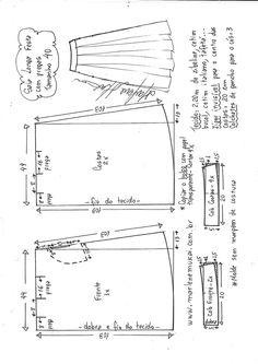 82f9733957 7 melhores imagens de modelos de saias gode