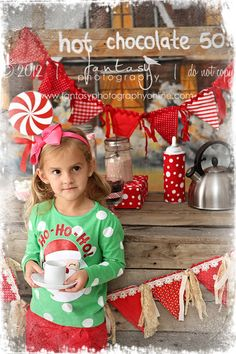 Hot Chocolate Stand Christmas & Holiday Mini Sessions