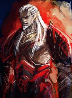 Dragon Age - Sten as Arishok by Aiuke
