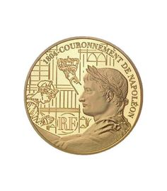 France 2004 10 EURO Bicentenaire NAPOLEON 200th anniversary Proof Gold Coin - World Ancient Coins