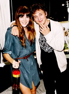 Emma Greenwell and Jeremy Allen White attending Los Angeles Confidential And The Art Of Elysium's Genesis   15th September 2011