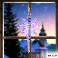 Ein wegweisender Stern darf zu Weihnachten nicht fehlen. 81 Lichter in multicolor, für den Innen- und Außenbereich geeignet #weihnachten