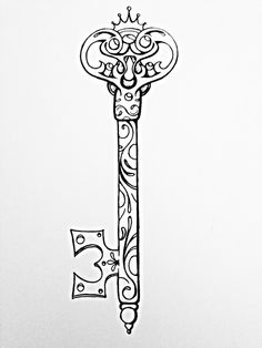 Possible key tattoo design