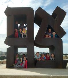 Open Studio Art Camp with Avigayle Adler in Jerusalem. Field trip for kids around Jerusalem that inspire art.