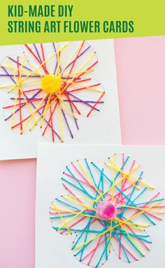 Looking for an easy craft that you and your kids can do together? Look no further than these DIY string art flower cards. These colorful homemade cards are a great way for you and your kids to celebrate all the changes that spring brings. Be sure to put on your DependⓇ SilhouetteⓇ Briefs before you start crafting so you can focus on enjoying time with your family instead of worrying about incontinence.