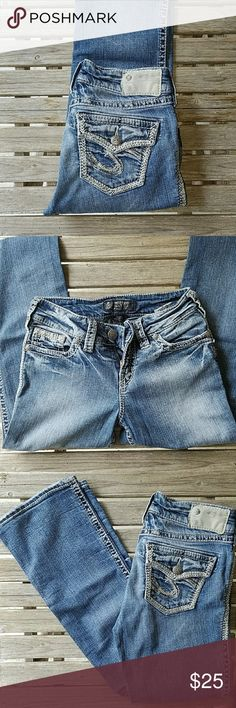 """Size 25-Silver jeans! Silver jeans in excellent condition! Inseam is 31"""" Silver Jeans Pants Boot Cut & Flare"""