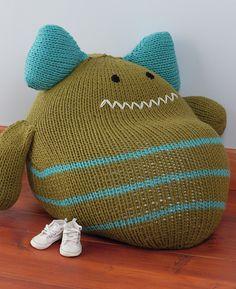 Ravelry: Monster Chair pattern by Rebecca Danger