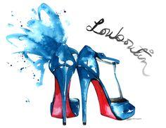 Christian Louboutin shoes by Aasha Ramdeen