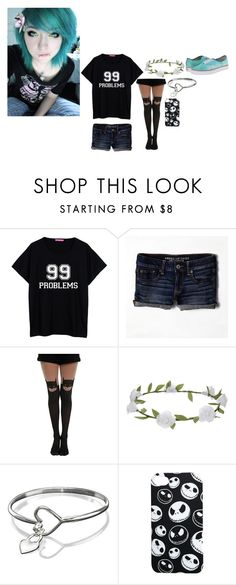 """""""Anyone wanna hang out? ~Lily"""" by winter-an0ns ❤ liked on Polyvore featuring American Eagle Outfitters, Accessorize and Vans"""
