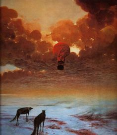 I have recently discovered the most amazing Zdzislaw Beksinski and his surrealist paintings. Dark Fantasy Art, Fantasy Kunst, Dark Art, Arte Horror, Horror Art, Fantastic Art, Macabre, Oeuvre D'art, Painting & Drawing