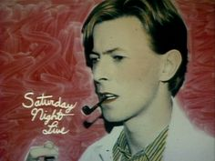 David Bowie on Saturday Night Live, 1979