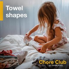 These fun activities from Whirlpool can help parents share important life skills with their kids and reinforce concepts from school through household chores. Easy Lunches For Kids, Kid Lunches, Indoor Activities For Kids, Fun Activities, How To Fold Towels, Building For Kids, Household Chores, Project Based Learning, House Cleaning Tips