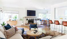 PERFECT TV/fireplace...Amber Interiors Portfolio - Dr. Client Clients - Main