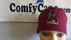 male scrub cap embroidered with Alabama Crimson Tide